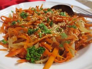 Carrot Matchstick