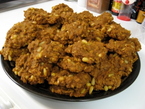 Pumpkin Pine Nut Cookies