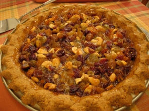 Apricot, Date, and Hazelnut Sticky Pie 2