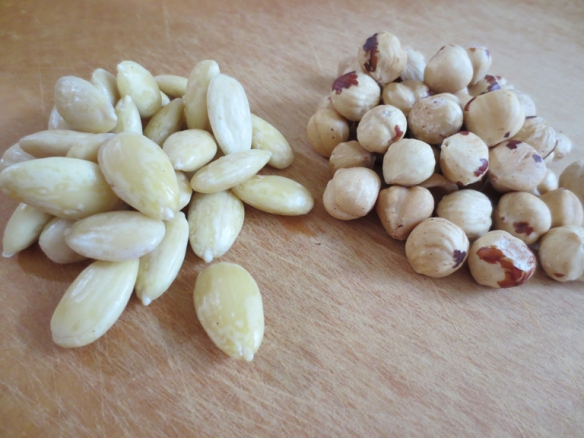 Blanched Almonds & Hazelnuts