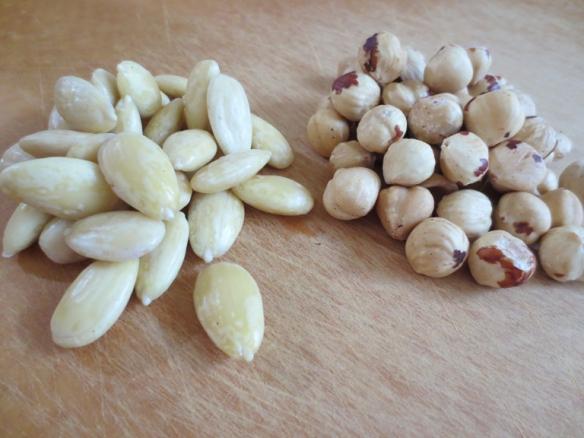 Blanched Almonds & Hazelnuts