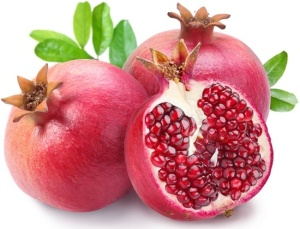 whole-and-sliced-pomegranates